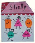 Families Theme Craft I like the idea of making the families out of different colored shapes - for recognition purposes and to show how different families can be!