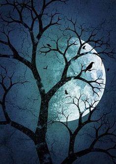Foto Mosaic Crosses, Shoot The Moon, Moon Magic, Blood Moon, Harvest Moon, Moon Art, Moonlight, Artwork, Blue Green