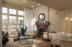 Light, airy living room.