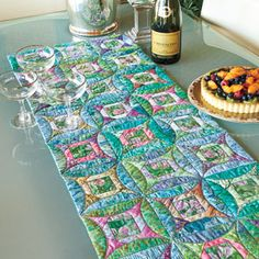 awesome quilt idea with NO binding!!!