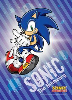 Crunchyroll - Store - Sonic The Hedgehog Sonic Wall Scroll