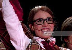 Laura Esquivel performs in the 'Patito feo. El Musical' at Plaza de toros of Vistalegre on July 4, 2010 in Madrid, Spain.