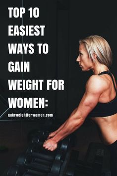 Like with weight loss, weight gain takes patience & consistency. But there are many healthy alternatives. Here are 10 easiest ways to gain weight for women: How To Gain Weight For Women, Weight Gain Workout, Ways To Gain Weight, Healthy Weight Gain, Diet Plans To Lose Weight, How To Lose Weight Fast, How To Gain Fat, Weight Loss Challenge, Weight Loss Goals
