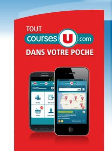Application courses en ligne iPhone Android - CoursesU.com