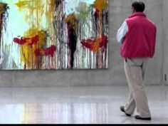 """Cy Twombly retrospective...""""The meaning of the work is in the doing of it."""""""