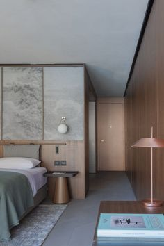 Contemporary Bedroom by Patricia Urquiola