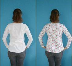 Ich habe eine gute Methode für eine Hohlkreuz-Anpassung bei Schnittmustern gefunden, die keine Taillen- oder Rückennaht haben!