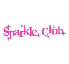 #thesparkleclub #logo