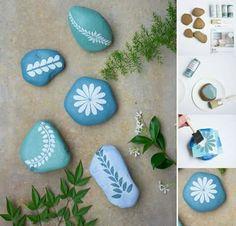 Piedras de colores para decorar