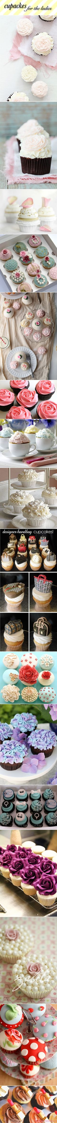 Darling Cupcakes- Kristi check out these cupcakes!!!! :)