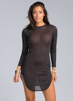 Too much glitter? Nope, that's not a thing. Case in point: This dress.