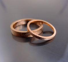 BIZOE - Obrączki ślubne z różowego złota pr.585 - BIZOE - Obrączki ślubne