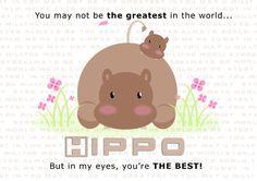 Hippo by J7MiGi on @DeviantArt