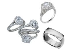 Hot 2012 trends in men and women's #wedding and engagement rings