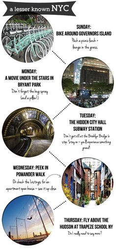 Five on Foot: A Lesser Known NYC.....Five on Foot that spotlights some lesser known NYC sights for you to discover on your next trip to the Big Apple.....kur spa new york