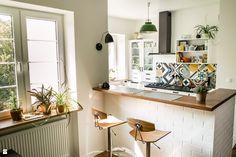 PO: barek między salonem a przedpokojem i kuchnią - zdjęcie od Joanna_Gu - Kuchnia - Joanna_Gu