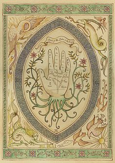 Palm reading pattern --> http://All-About-Tarot.com <--