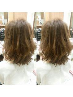 長さは変えずにイメチェンボブ【curare】 - 24時間いつでもWEB予約OK!ヘアスタイル10万点以上掲載!お気に入りの髪型、人気のヘアスタイルを探すならKirei Style[キレイスタイル]で。