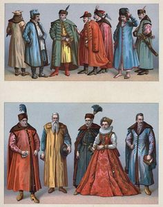 16th Century Polish dress