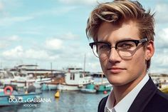 Presley Gerber wearing Jazz #DGEyewear Collection shot by Franco Pagetti for #DGSS17 Advertising Campaign. #DGMillennials #DGCapri  via DOLCE & GABBANA OFFICIAL INSTAGRAM - Celebrity  Fashion  Haute Couture  Advertising  Culture  Beauty  Editorial Photography  Magazine Covers  Supermodels  Runway Models