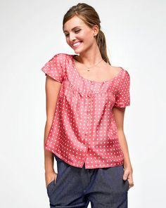 Burda retro restyle blouse.