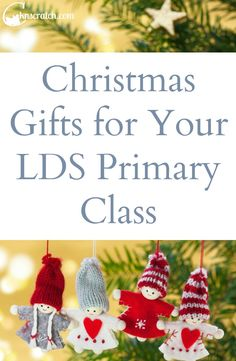 Christmas Gifts for Your Latter-day Saint Primary Class — Chicken Scratch N Sniff Love that these are simple and affordable! Christmas gifts for your LDS Primary Class Nursery Christmas Gifts, Primary Christmas Gifts, Christmas Gift Exchange Games, Family Christmas Gifts, Christmas Store, Christmas Crafts, Christmas Bells, Christmas Movies, Handmade Christmas