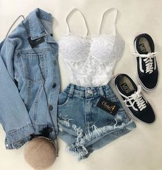 Girls Fashion Clothes, Teen Fashion Outfits, Retro Outfits, Outfits For Teens, Summer Clothing, Diva Fashion, Work Outfits, Fashion Women, Style Fashion