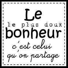 Le Bonheur...