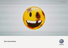 Volkswagen - Awareness campaign Don't text and drive