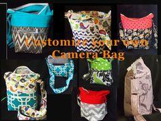 Customize Dslr bag Dslr Camera Bag Fits Nikon by StrappyStyles