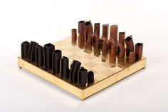 Simon Hassan Chess Set | From a unique collection of antique and modern games at http://www.1stdibs.com/furniture/more-furniture-collectibles/games/