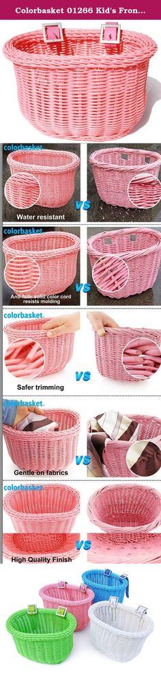 Colorbasket Adult Front Handlebar Solid Colored Bike Basket