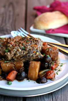 lamb and stout roast     I'd make it without potatoes and use arrowroot instead of corn starch!  looks so good!