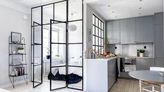 Trendig compact living-dröm med 9 smarta och snygga lösningar