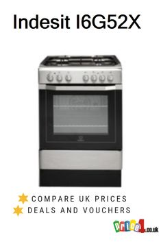 Indesit Compare UK prices and find the cheapest deals from 12 stores. Dual Fuel Cooker, Freestanding Cooker, Cheap Deals, Cookers