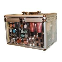Shany Carry All Trunk Professional 48 pc.  Makeup Kit Gift Set