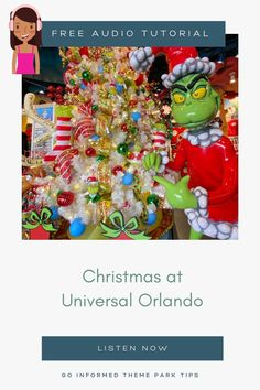 Learn all about the special events and experiences at Universal Orlando during the Christmas season. Your host Maven shares the run-down on what makes Universal Orlando a fantastic holiday destination. From GoInformed.net/58 Visit Florida, Florida Usa, Florida Travel, Orlando Theme Parks, Giant Balloons, Universal Orlando, Holiday Destinations, Travel With Kids, Vacation Trips