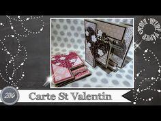 """Vidéo-Tuto """"Carte St Valentin"""" par Coul'Heure Papier"""