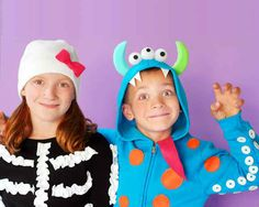 This terrifying monster. | 37 Cheap And Easy Sweatsuit Halloween Costumes
