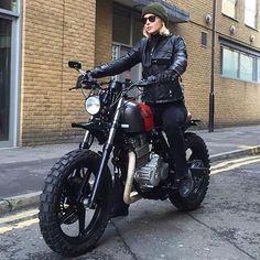 - Honda CBF250 - nice tough city bike...