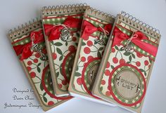 CRAFT PARTY IDEA- Lots of lovely notebooks- would be cute to give a parting gift for them to write all their ideas in Más Filofax, Altered Composition Books, Composition Notebooks, Bazaar Crafts, Bazaar Ideas, Decorate Notebook, Craft Show Ideas, Craft Sale, Paper Gifts