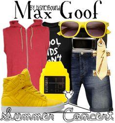 Disney Bound: Max Goof Summer Concert