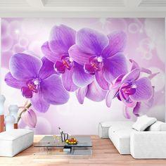 Vlies Fototapete 'Orchidee' 352x250 cm - 9012011b RUNA Tapete: Amazon.de: Küche & Haushalt