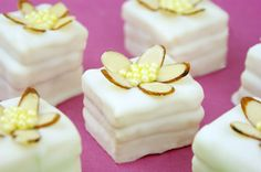 (Easy) White Chocolate Raspberry Petit Fours by Miss CandiQuik
