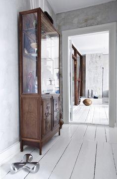 Designer Rebecca Uth's home in Copenhagen. Photo by Niels Ahlberg.