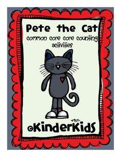 The Kindergarten Center: Manic Monday Link Up Pete the Cat Freebie Classroom Freebies, Kindergarten Classroom, Classroom Ideas, Classroom Secrets, Classroom Crafts, Classroom Resources, Kindergarten Centers, Kindergarten Reading, Kindergarten Orientation