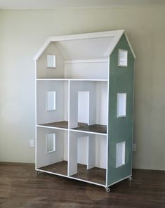 Three Story American Girl or 18 Dollhouse - Ana White - Can someone build me this? American Girl Furniture, Girls Furniture, Doll Furniture, Furniture Plans, Furniture Storage, Dollhouse Furniture, Modern Furniture, Furniture Design, Doll House Plans