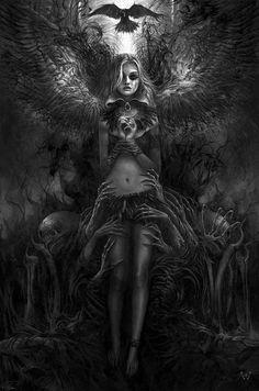 La oscuridad de un ángel