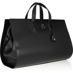 Alexander Wang Pelican Weekender leather tote ($1,500) found on Polyvore