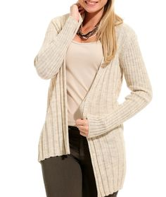 Cream long cardigan woman knit cardigan sweater by knitfashionable